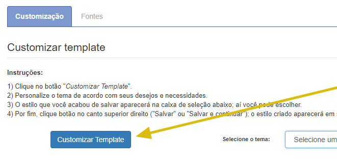 customizar template opencart botao