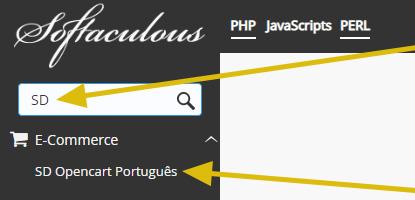 Instalador opencart português