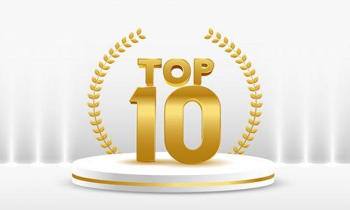 Ranking das extensões de domínio mais registradas