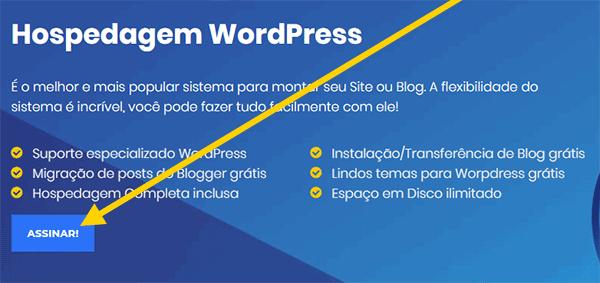 Criar Blog Passo 1